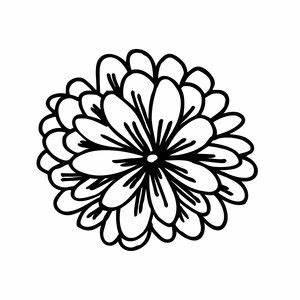 Mum Flower Designs Mum Flower Flower Silhouette Arts Crafts For Adults