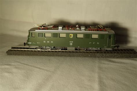 m 228 rklin h0 3350 electric locomotive ae 6 6 sbb cff