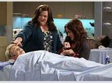 Mike & Molly Interview Katy Mixon Talks Funeral Home