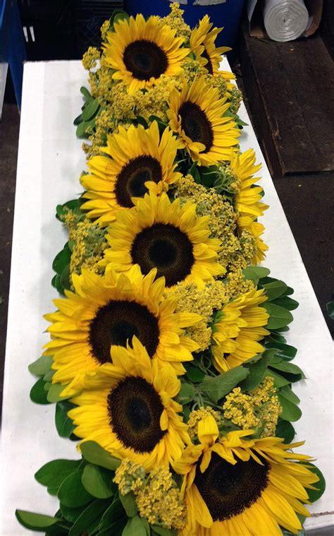 sunflower weddings images  pinterest floral