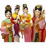 Dolls Taiwan China Republic Doll Asian Souvenir