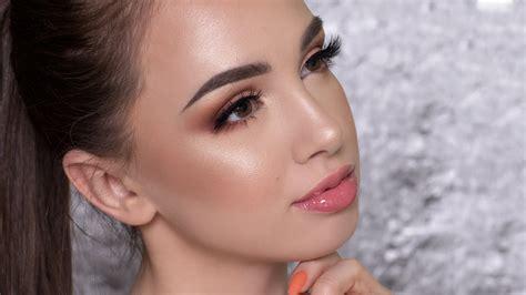 glowy summer makeup  youtube