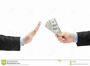 No corruption concept stock image. Image of give, bribing ...