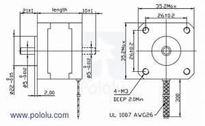 J Lem 12 Lead Motor Wiring Diagram : stepper motor bipolar 200 steps rev 35x28mm 10v 500ma ~ A.2002-acura-tl-radio.info Haus und Dekorationen