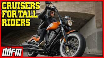 5 Best Beginner Cruiser Motorcycles For Tall Riders 2017