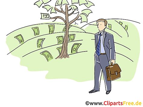 baum mit geld baum mit geld clipart grafik bild
