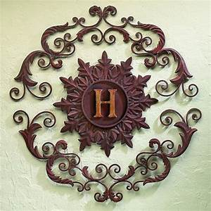 exterior monogram wall art joy studio design gallery With wrought iron outdoor monogram letters