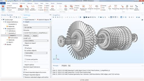 cad import module import cad files   comsol software