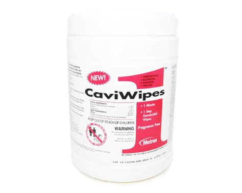 Cavicide Wipes - Disinfectant - Tattoo Medical Supplies