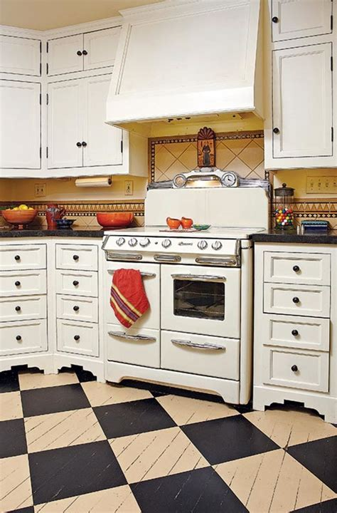 checkerboard flooring kitchen the best flooring choices for house kitchens 2129