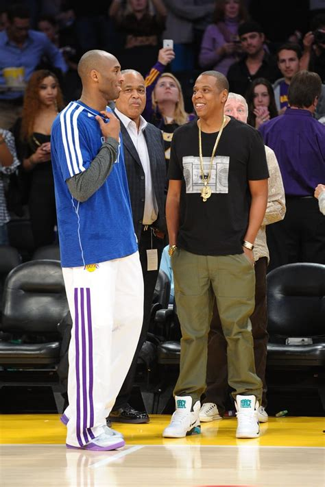 jay  chatted  kobe bryant    lakers game
