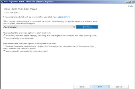 Exchange Server Migration Resume by Manually Add Mailbox Exchange 2003