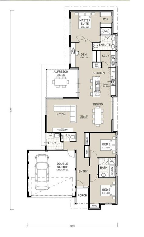avalon narrow block plan home builder  perth switch homes hp perth wa pinterest