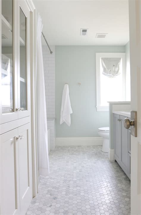 Tile Floor Kitchen Ideas - the midway house guest bathroom studio mcgee