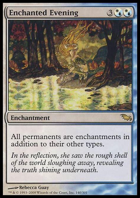 Mtg Enchantment Deck Edh by Enchanted Evening Shm Mtg Card