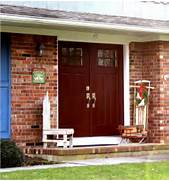 Front Door Paint Colors For Brick Homes by Front Door Colors Front Doors And High Windows On Pinterest