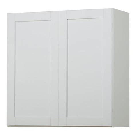 lowes white cabinet doors shop kitchen classics arcadia 30 in w x 30 in h x 12 in d