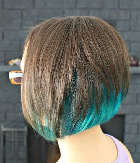 Best 25 Blue Hair Underneath Ideas On Pinterest Dyed