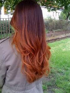 Auburn Ombre -- perfect for fall! | | Hair style | Color ...
