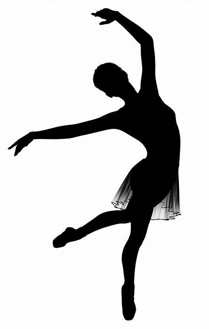 Ballet Ballerina Dancer Silhouette Svg Clipart Alpha