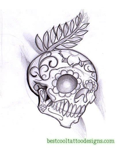 day   dead tattoo designs