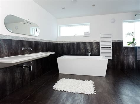black bathrooms ideas top and simple black and white bathroom ideas