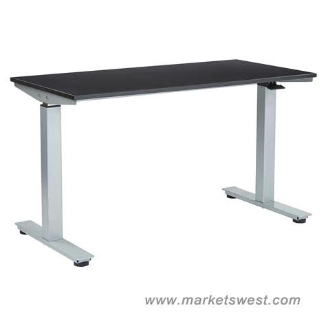 adjustable height table top desk ascend pneumatic adjustable height table desk with 24 quot x