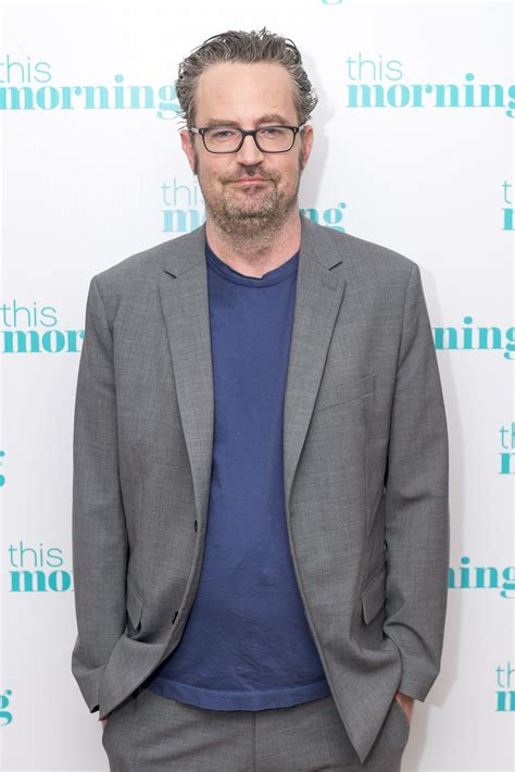 Matthew Perry Claps Back at 'Disheveled' Appearance Report ...