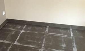 sol beton cire beton cire sur carrelage sols techniques With sol béton ciré sur carrelage