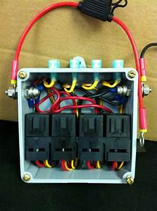 Simple Four Relay Box