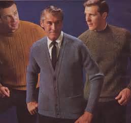 1960s Men Fashion Sweater