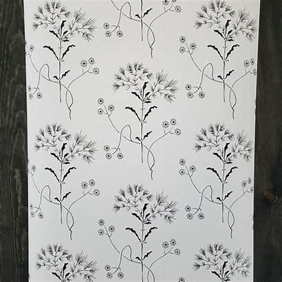 Surestrip Wildflower Magnolia Prepasted Designer