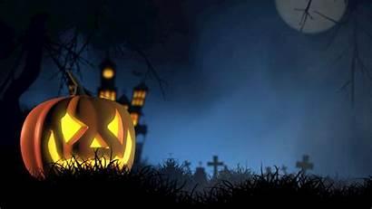 Halloween Spooky Pumpkin Background Autumn Face Hdv