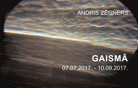 Andris Zēgners GAISMĀ - Daugavpils Marka Rotko mākslas centrs