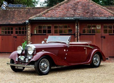 Bentley, Oldtimer, Cabrio, Garage  Bentley Pinterest