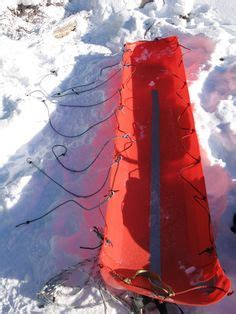 pulk diagram  winter sled  move  entire backpack