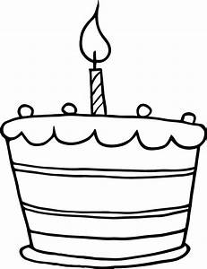 printable birthday cake one candle working sheet for kids