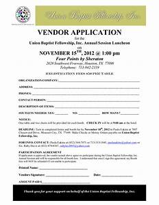 vendor application template 28 images 10 vendor With event vendor application template