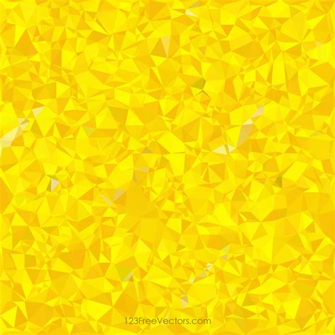 polygonal yellow pattern background design freevectors
