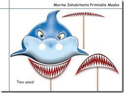 molde mascara tiburon molde mascara tiburon m 225 scara de tibur 243 n en color