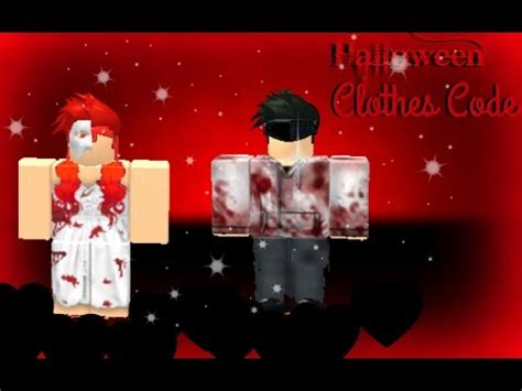 Halloween Clothes Code For Roblox High School - [ SPECIAL ...