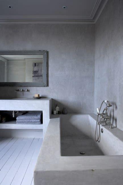 salle de bain tadelakt le tadelakt l enduit id 233 al pour la salle de bain and co