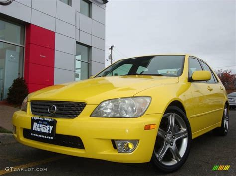 lexus yellow 2001 solar yellow lexus is 300 21570378 photo 38