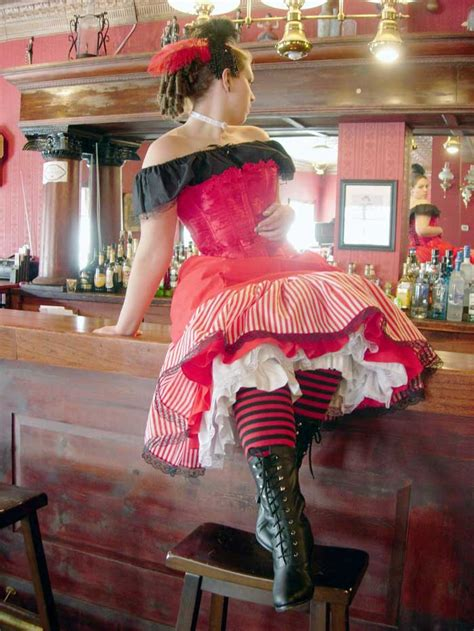 west saloon gal clothes  moulin rouge   clothes