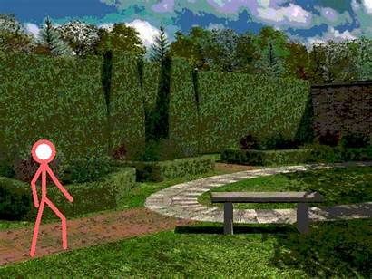 Pivot Stick Figure Garden Backgrounds Animation Club