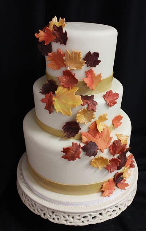 fall wedding cakes we love fall weddings blog oakleafcakes com boston en vogue fall