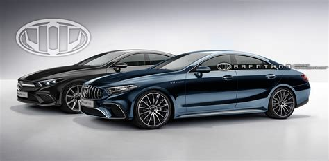 Rendering Of 2018 Mercedesbenz Cls And Mercedesamg Cls
