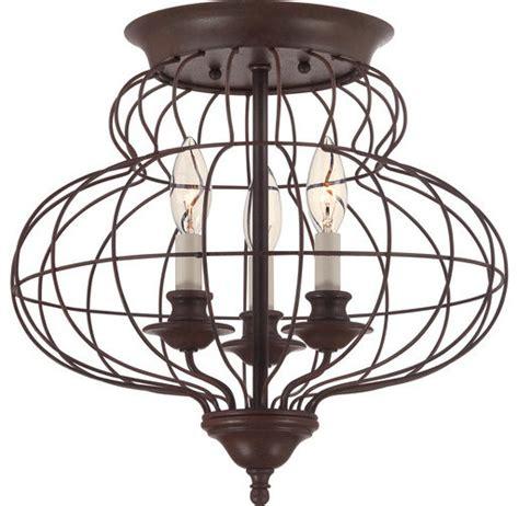 quoizel laila 3 light 15 quot w flush mount ceiling fixture