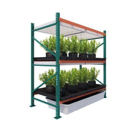 vertical grow garden rack growhighercom