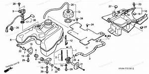 Honda Atv 2004 Oem Parts Diagram For Fuel Tank